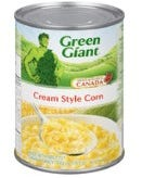 Green Giant Cream Style Corn Fancy 540ML