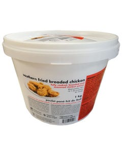 Southern Fried Breaded Chicken Bucket 1kg