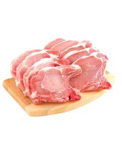 Pork Loin Chops Rib Centre Sirloin PER KG