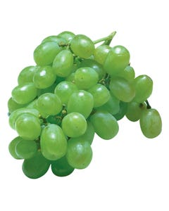 Grapes Green Seedless Bunch PER KG