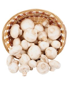 Mushrooms White Whole 200g