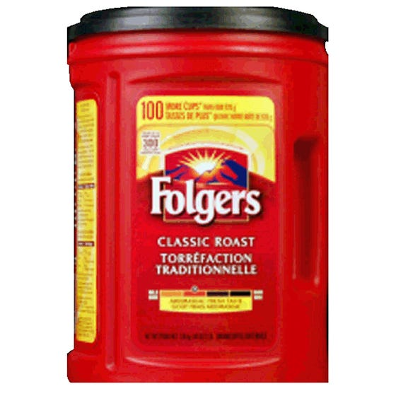 Folgers Café Moulu Traditionnelle 1.36KG
