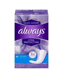 Always Xtra Protection Regulier 40 Protege Dessous