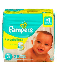 Pampers Swaddlers Couches Taille 3 26'S