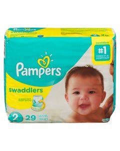 Pampers Swaddlers Jumbo Diaper Size 29ct