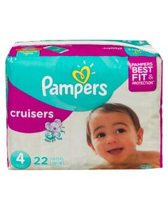 Pampers Cruisers Couches Taille 4 22'S