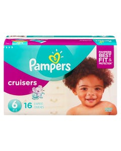 Pampers Cruisers Jumbo Diaper Size 6 16ct