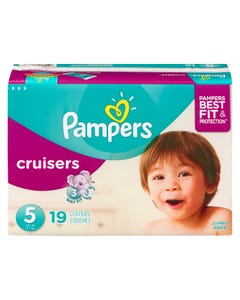 Pampers Cruisers Jumbo Diaper Size 5 19ct