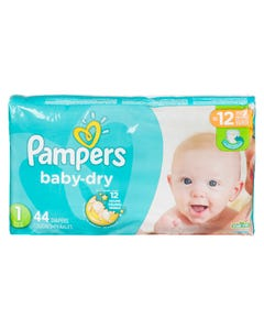 Pampers Baby Dry Jumbo Size 1 44ct