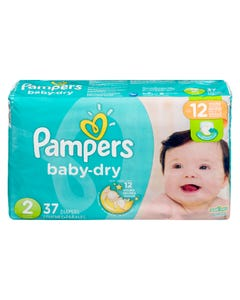 Pampers Baby Dry Jumbo Size 2 37ct