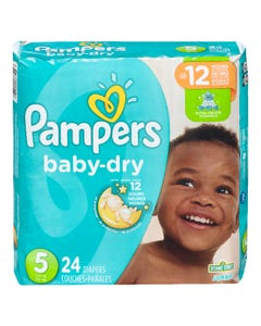Pampers Baby Dry Jumbo Size 5 24ct