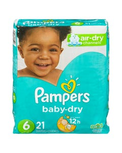 Pampers Baby Dry Jumbo Size 6 21ct