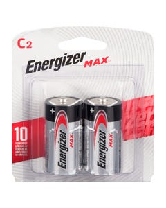 Energizer Batteries Max C 2 pack