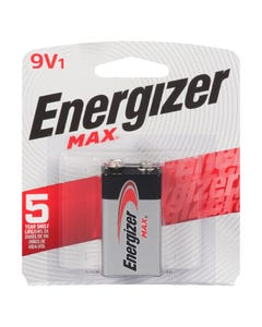 Energizer Battery Max 9V 1 pack