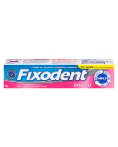 Fixodent Creme Adhesive Prothese Original 68g