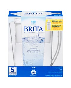 Brita Pour Through System Slim White