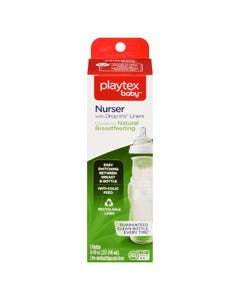 Playtex Nurser Drop In Liners 8oz 1S