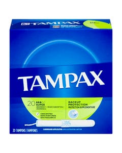 Tampax Biodegradable Super 20 Tampons