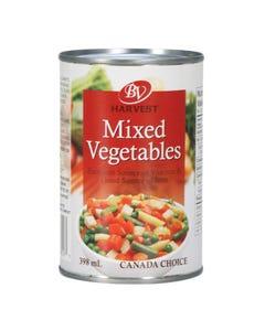 Best Value Harvest Mixed Vegetables 398ML