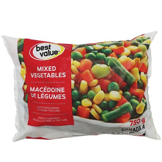 Best Value Macédoine de Légumes 750G