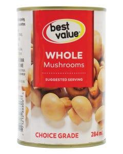 Best Value Whole Mushrooms 284ML
