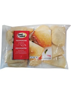 Best Value Panzerotti Pepperoni 1KG