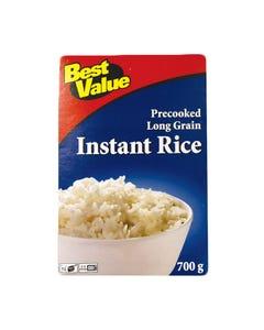 Best Value Rice Long Grain Instant White 700G