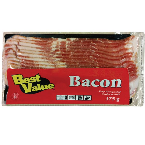 Best Value Bacon 375G