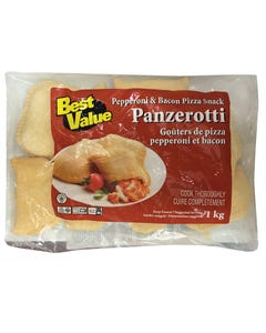 Best Value Panzerotti Pepperoni & Bacon 1kg