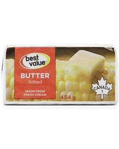 Best Value Butter Salted 454g