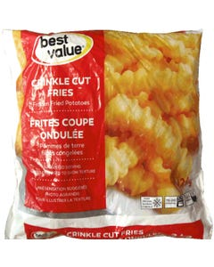 Best Value Frites Coupe Ondulée 2KG