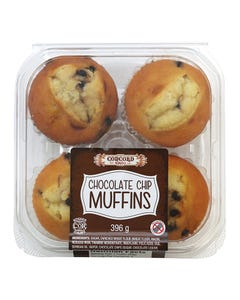 Concord Chocolate Chip Muffins 4CT 396G