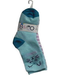 Infant Girls 7 Day Pack Socks 18-24M