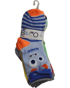 Infant Boys 7 Day Pack Socks 18-24M