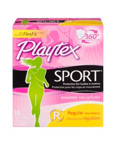 Playtex Sport Regular 18 Tampons