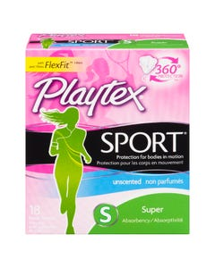 Playtex Sport Super 18 Tampons