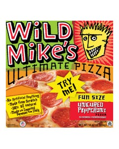 Wild Mike's Fun Size Pizza Pepperoni 416g