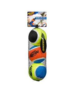 Nerf Chien Balle de Tennis Med 2.5in 3pk
