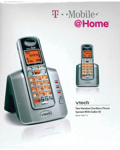 Phone Cordless 2HS With Call Display