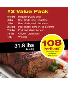 Meat Pack 2 Value Pack