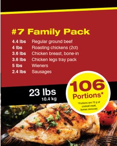 Meat Pack 7 Family Pack