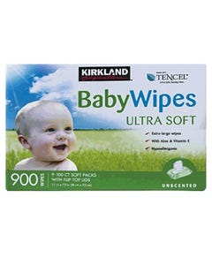 Kirkland Signature Baby Wipes 9x100CT