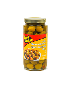Best Value Stuffed Manzanilla Olives 375ml