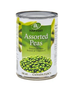 Best Value Harvest Peas Assorted 398ml