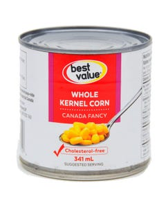 Best Value Harvest Corn Whole Kernel 341ml