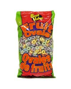 Best Value Fruit Ovals Cereal 300g