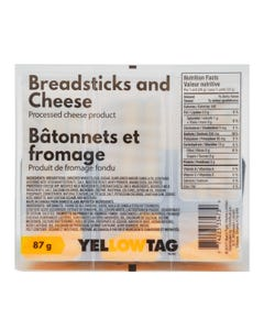 Yellowtag Breadsticks & Cheese 87g