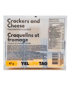 Yellowtag Crackers & Cheese 87g