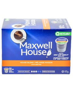 Kcups Maxwell House 12ct 117g