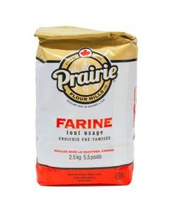 Prairie Flour Mills Farine Tout Usage 2.5KG